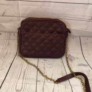 Plum/burgundy cross body